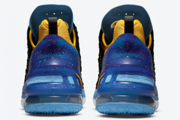 Nike LeBron 18 Minneapolis Lakers CQ9283-006 Sneakers For Sale-3