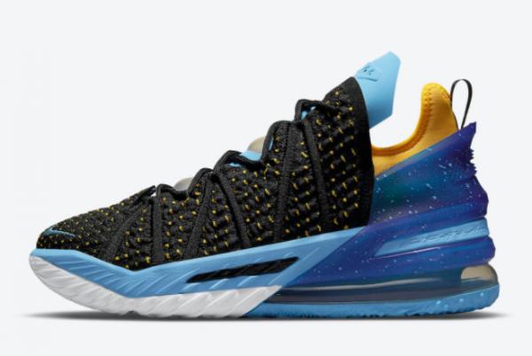 Nike LeBron 18 Minneapolis Lakers CQ9283-006 Sneakers For Sale
