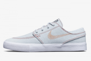 Nike SB Stefan Janoski Flyleather Pure Platinum CI3836-003 Sneakers For Sale