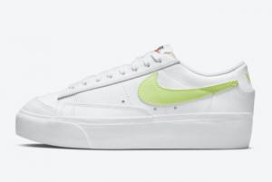 Nike Wmns Blazer Low Platform Lemon Twist DJ0292-102 Women's Shoe