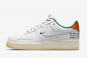 Shop Nike Air Force 1 AF1 White/Sail-Starfish DM0970-111