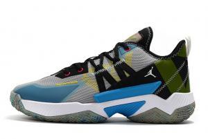 2021 Jordan Why Not Zer0.4 Grey/Multi-Color Sneakers On Sale