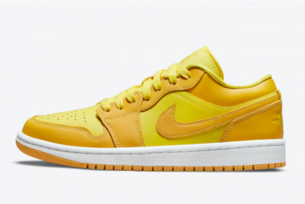 2021 Latest Air Jordan 1 Low Sunny Yellow DC0774-700