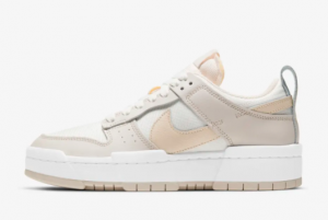 2021 New Nike Dunk Low Disrupt Sail Pearl White CK6654-103 For Cheap