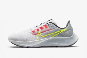 Nike Air Zoom Pegasus 38 Limited Edition Dark Smoke Grey/White/Flash Crimson/Volt 2021 For Sale DJ3129-001