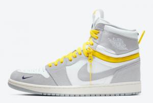 Air Jordan 1 High Switch Light Smoke Grey CW6576-100 Basketball Sneakers For Sale