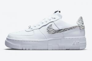 Cheap Nike Air Force 1 Pixel Zebra 2021 For Sale DH9632-100