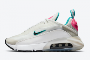 Cheap Nike Air Max 2090 WMNS White/Teal-Pink 2021 For Sale CZ1535-001