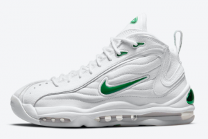Cheap Nike Air Total Max Uptempo White Green 2021 For Sale CZ2198-101