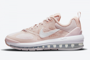 Cheap Nike Wmns Air Max Genome Barely Rose Pink Oxford White Summit White 2021 For Sale DJ3893-600