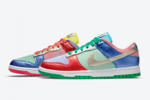 Fashion Nike Dunk Low Sunset Pulse DN0855-600 Shoes