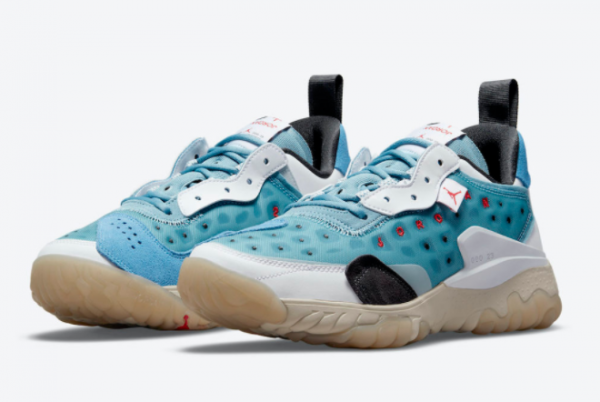 New Jordan Delta 2 Blue Red Nike React 2021 For Sale CV8121-400-1
