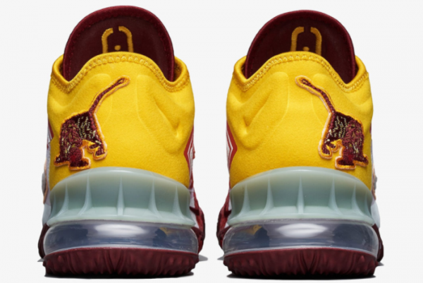 New Mimi Plange x Nike LeBron 18 Low Higher Learning 2021 For Sale CV7562-102 -3