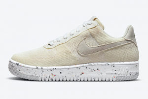 New Nike Air Force 1 Crater Flyknit Sail 2021 For Sale DC7273-200