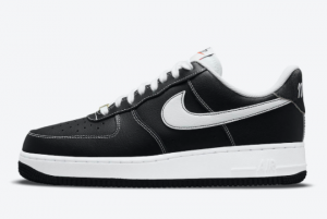 New Nike Air Force 1 Low First Use Black White 2021 For Sale DA8478-001
