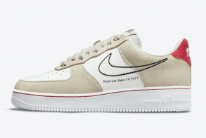 New Nike Air Force 1 Low First Use Light Stone 2021 For Sale DB3597-100