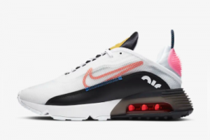 New Nike Air Max 2090 White Black Pink Glow Starfish DC4464-100 For Sale
