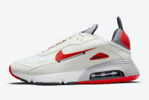 New Nike Air Max 2090 White/Red-Blue-Grey 2021 For Sale DH7708-100