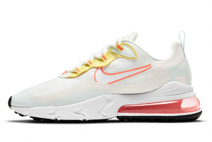 New Nike Air Max 270 React Pale Ivory/Summit White/Barely Green 2021 For Sale CV8818-102