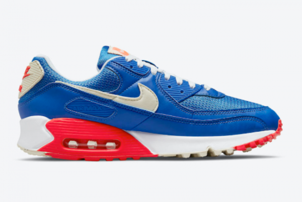 New Nike Air Max 90 USA 2021 For Sale DM8316-400 -1