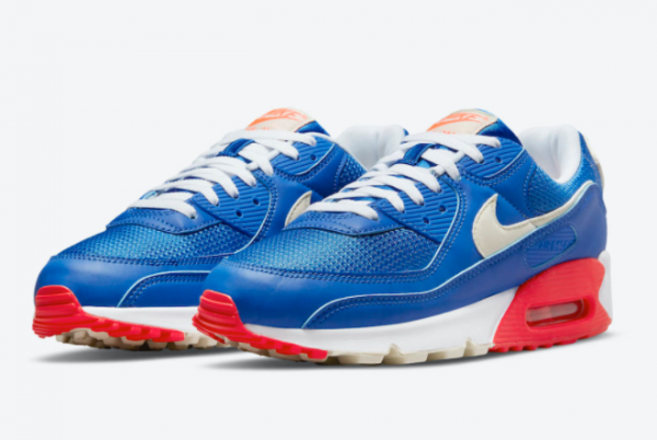 New Nike Air Max 90 USA 2021 For Sale DM8316-400 -2