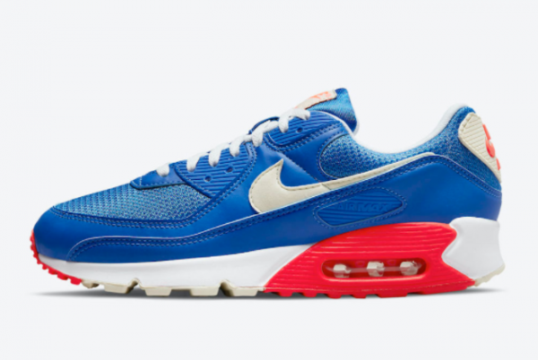 New Nike Air Max 90 USA 2021 For Sale DM8316-400