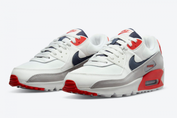 New Nike Air Max 90 USA For Sale DB0625-101-1