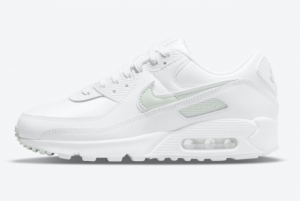 New Nike Air Max 90 White Light Grey DH5720-100 For Sale
