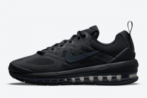 New Nike Air Max Genome Triple Black 2021 For Sale CW1648-001