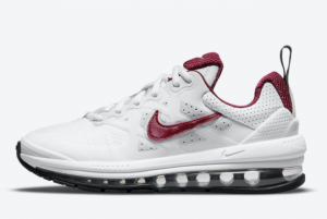 New Nike Air Max Genome White/Team Red 2021 For Sale CZ4652-105