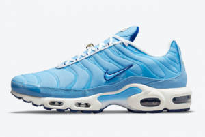 New Nike Air Max Plus First Use University Blue White 2021 For Sale DB0681-400