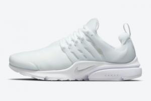 New Nike Air Presto Triple White White/Pure Platinum 2021 For Sale CT3550-100