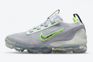 New Nike Air VaporMax 2021 Grey Volt DB1550-005 For Sale