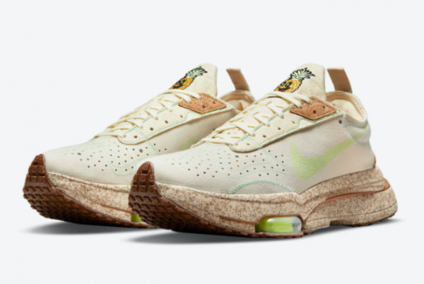 New Nike Air Zoom Type Happy Pineapple Coconut Milk/Lime Glow-Green Glow 2021 For Sale DC5632-100 -1
