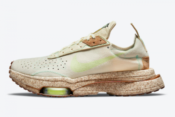 New Nike Air Zoom Type Happy Pineapple Coconut Milk/Lime Glow-Green Glow 2021 For Sale DC5632-100