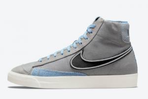 New Nike Blazer Mid Denim For Sale DJ4648-073