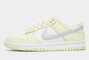 New Nike Dunk Low WMNS Lime Ice Light Soft Pink Ghost-Lime Ice-White 2021 For Sale DD1503-600