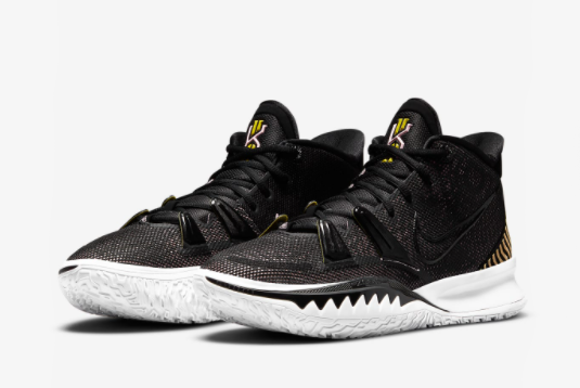 New Nike Kyrie 7 EP Black/Arctic Punch CQ9327-005 For Sale-2