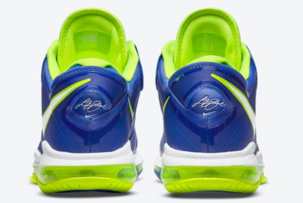 New Nike LeBron 8 V2 Low Sprite Treasure Blue/White-Black-Volt 2021 For Sale DN1581-400 -3