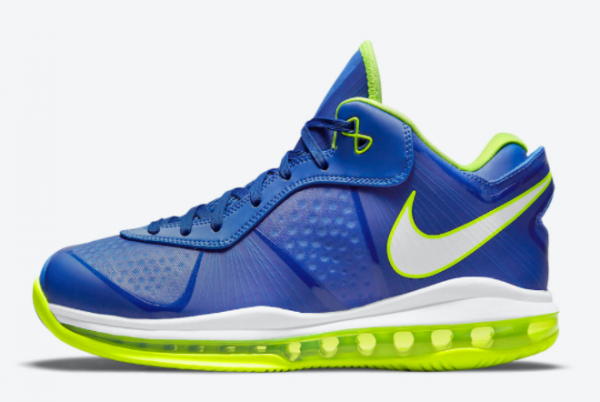 New Nike LeBron 8 V2 Low Sprite Treasure Blue/White-Black-Volt 2021 For Sale DN1581-400