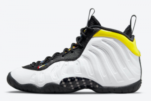 New Nike Little Posite One GS White Black Yellow 2021 For Sale DJ5797-100