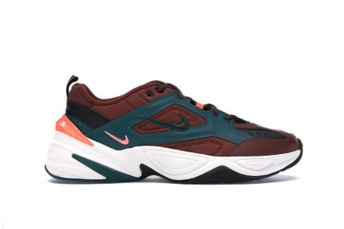 New Nike M2K Tekno Baroque Brown Rain Forest 2021 For Sale AV4789-200-1
