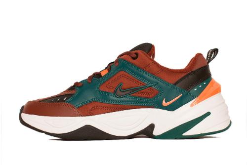 New Nike M2K Tekno Baroque Brown Rain Forest 2021 For Sale AV4789-200