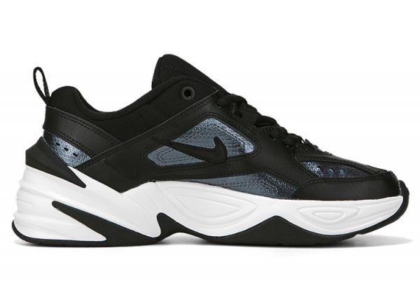 New Nike M2K Tekno ESS Black Black Mtlc Hematite 2021 For Sale CJ9583-001-1