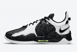 New Nike PG 5 Black/White 2021 For Sale CW3143-003