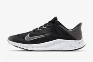 New Nike Quest 3 Premium Black/Smoke Grey/White/Metallic Dark Grey 2021 For Sale CV0150-015