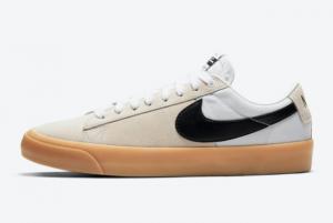 New Nike SB Blazer Low GT White Gum For Sale DC7695-100