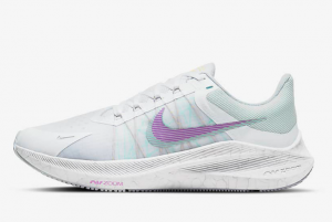 new nike winflo 8 white football grey violet shock infinite lilac 2021 for sale cw3421 102 300x201