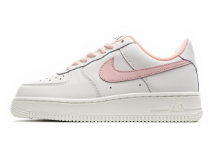 New Nike Wmns Air Force 1 '07 White Pink 2021 For Sale CQ5059-106