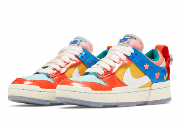 New Nike Wmns Dunk Low Disrupt Kid at Heart 2021 For Sale DJ5063-414 -2